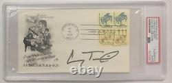 CONWAY TWITTY Autograph PSA/DNA First Day Cover SIGNED Auto Country Music Legend
