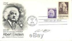 Carl Sagan Signed Autographed First Day Cover Beckett BAS Einstein