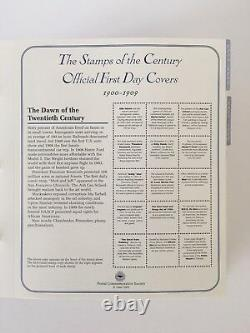 Celebrating the 20th Century U. S. First Day Covers Complete Set of 150 PCS Album