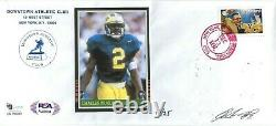 Charles Woodson Autographed/Signed 1997 FDC Heisman Cache PSA Certified #13/25