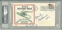 Chester Nimitz Signed Authentic First Day Cover 1963 (PSA/DNA) #83408087