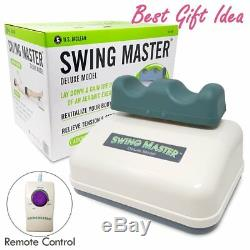 Chi Swing Machine Passive Aerobic Exerciser Circulation Master Deluxe Model