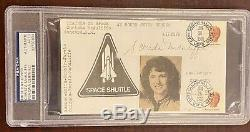 Christa McAuliffe Signed 1st Day Cover 1/28/86 Space Shuttle Challenger PSA/DNA