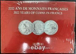 Coffret Bu 2000 2000 Ans De Monnaies Françaises Volume Iii/iii