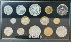 - Coffret FDC France 1989 10 francs Montesquieu