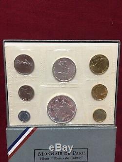 Coffret Fdc Fleur De Coin France 1968 Tres Rare
