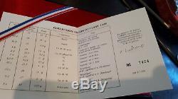 Coffret Fdc Monnaie De Paris 1990 Avec Certificat Tres Bel Etat Rare