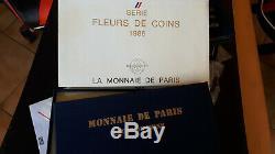Coffret Monnaie De Paris Fdc 1986 Rare Neuf
