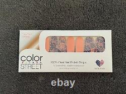 Color Street Nail Strips ISLAND VIBES, RARE RETIRED VHTF UNICORN, Floral