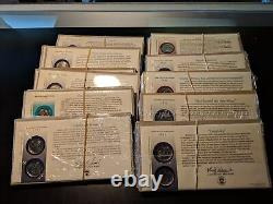 Complete 1999-2008 Quarters Statehood First Day Covers Mint Sealed (Lot of 50)