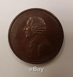 Constitution Monneron à l'effigie de Jean-Jacques Rousseau Rare