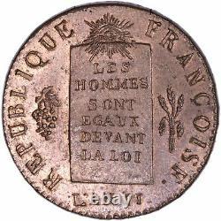 Convention 1/2 Sol aux balances 1793 H La Rochelle SPL / FDC