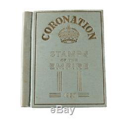 Coronation Stamps of the Empire 1937 Album G. F. Rapkin George VI Queen Elizabeth