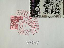 Crypto Stamp Ersttagsbrief Gelb 5eppJh / FDC Yellow 5eppJh