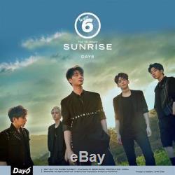DAY6 SUNRISE 1st Album CD+Foto Buch+3p FotoKarte+Clear Cover Set+Lyrics SEALED
