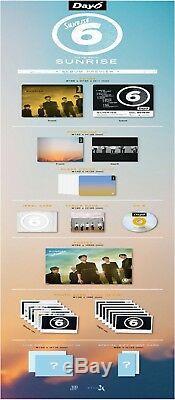DAY6 SUNRISE 1st Album CD+POSTER+Book+Card+Clear Cover Set+Lyrics+GIFT CARD