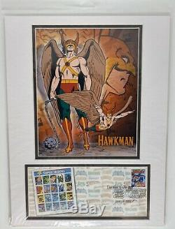 DC Comics Matted Stamps USPS 1st Day Issue 2006 SAN DIEGO COMIC CON (Set of Ten)
