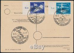 DDR 1950, MiNr. 246-247, Schierke FDC, Fotoattest Paul, Mi. 2200,- RR