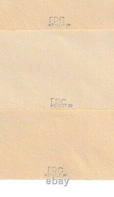 DDR-FDC 5-Jahrplan Buchdruck (!), geprüft