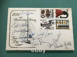 Dads Army BBC First Day Cover Cast Signed Arthur Lowe James Beck 1972 RARE x7