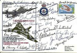 Dam Busters Hand Signed Fdc By 27 Dambusters Crew Inc Barnes Wallis Autographed