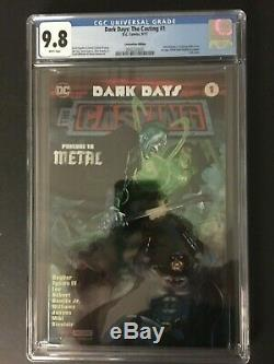 Dark Days The Casting #1 CGC 9.8 Convention 1st appearance Foil Cover Not CBCS