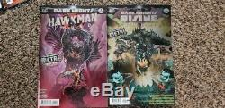 Dark Nights Metal Set 1-6 Tie-ins And Dark Days 1st Prints Foil Covers. 18 Books