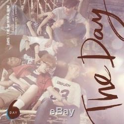 Day6-The Day 1st Mini Album CD+PhotoBook+LyricsBook+Clear Cover+Gift K-POP