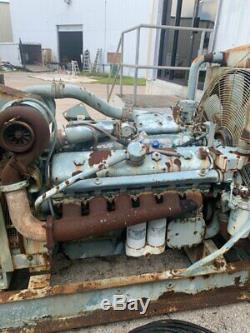 Detroit diesel generator