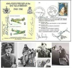 Douglas Bader Autograph, Battle of Britain, Original Hand Signed FDC
