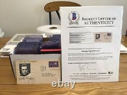 Dracula Actor Bela Lugosi Signed First Day Cover Cut Auto Rare Beckett LOA