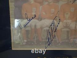 England 1966 Football World Cup Winners Signed First Day Cover 10 Signatures