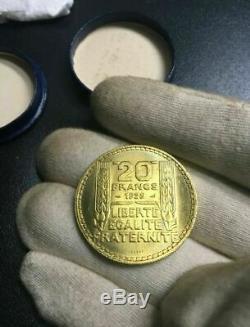 Essai RARE 20 Francs Turin 1929 FDC + sa boite d'origine