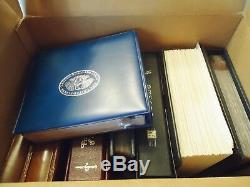 Estate Us First Day Covers 180 Pounds In Binders, Shoe Type Boxes & Photo Albums