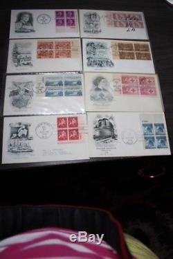 FDC Lot of 400 ARTMASTER Cachet Collection 1946-1987 ALL PLATE BLOCKS No Dups