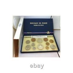 FRANCE 1987 SERIE FDC Fleur De Coin COFFRET 12 monnaies 1 centime à 100 Francs