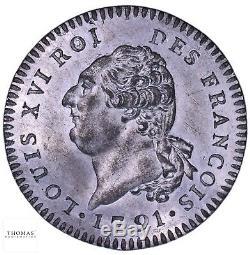 FRANCE Louis XVI Essai 30 sols constitutionnel FDC Rarissime