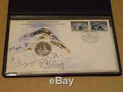 First Ascent Of Everest 1978 Nepal Coin FDC (Hand Signed by Hillary & Tenzing)