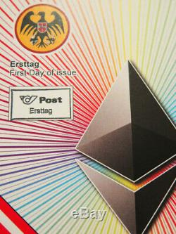 First Day Cover FDC Crypto Stamp RARE Ethereum Erstag Erstagsbrief SPECIAL