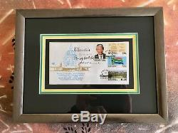 Four times signed Nelson Mandela Inauguration First Day Cover FURTHER REDUCED
