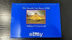 France Coffret BU 1994 Brillant Universel 10 monnaies