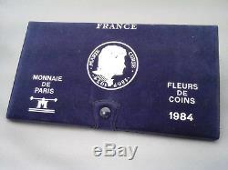 France Coffret Fdc 1984 Rare