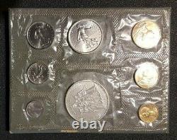France Francia French Coins Coffret Monnaie De Paris Fdc Serie 1968 Rare