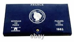 France coffret Monnaie de Paris 1983 FDC
