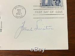 Frank Sinatra Signed Autographed JFK First Day Cover with Photograph