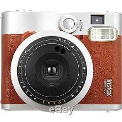 Fujifilm Fujifilm INSTAX Mini 90 Brown Instant Film Camera Vintage Polaroid New