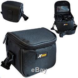 Fujifilm INSTAX Mini 90 Instant Film Camera (Black) + Battery + Charger + Case
