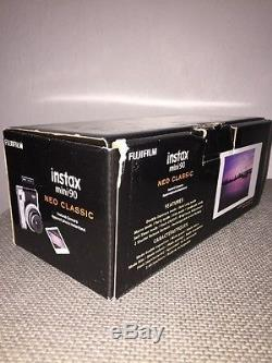 Fujifilm Instax Mini 90 Neo Classic Camera, Instant Film Camera, USA Black