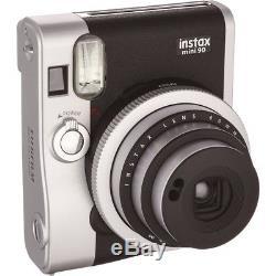 Fujifilm Instax Mini 90 Neo Classic Instant Film Camera Black NEW IN BOX