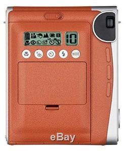 Fujifilm Instax Mini 90 Neo Classic Instant Film Camera (Brown) Brand New